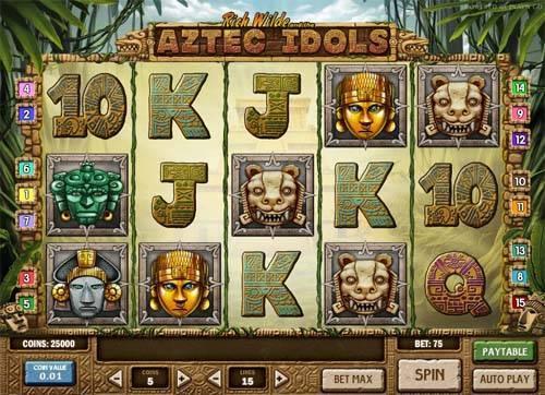Aztec Idols Slot Review