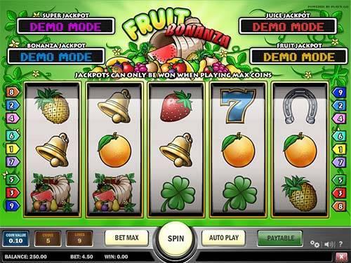 Fruit Bonanza Slot Game