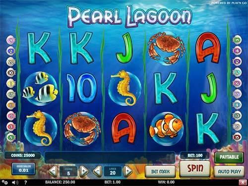 Pearl Lagoon Slot Game