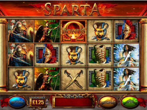fortunes of sparta slot screen - Fortunes Of Sparta Slot Review
