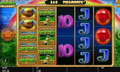 luck o the irish megaways slot screen - Luck O the Irish Megaways Slot Review