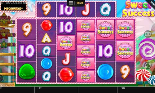sweet success megaways slot screen - Sweet Success Megaways Slot Review